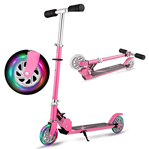 4 Adjustable Height /& PU Flashing Wheels for Preschool Kids Ages 2-9 Hikole Scooters for Kids /& Toddlers 3 Wheel Scooter Great for Girls /& Boys Kid Ride on Toys