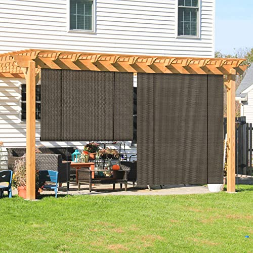 Shades Blinds For Porch Pergola Shade, How To Make A Roll Up Patio Shade