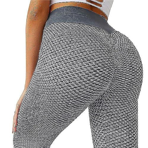 Famous Tiktok Butt Leggings Women High Waist Bubble Peach Lift Tummy Control Booty Slimming Yoga Pants